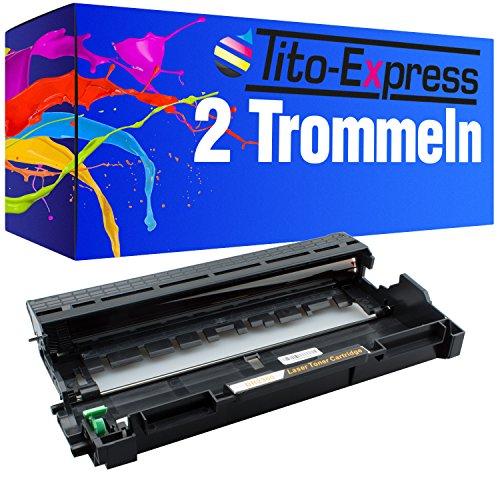 PlatinumSerie 2X Trommel XXL kompatibel für Brother DR-2300 & TN-2320 L2340DW L2360DN L2365DW MFC-L2700DW L2700DN L2720DW L2740DW DCP-L2500D L2520DW L2540DN L2560DW L2700DW
