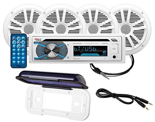 BOSS Audio Bluetooth, Navigation, DVD/MP3/CD AM/FM Receiver MCK508WB.64S (Car Audio Boss Dvd)