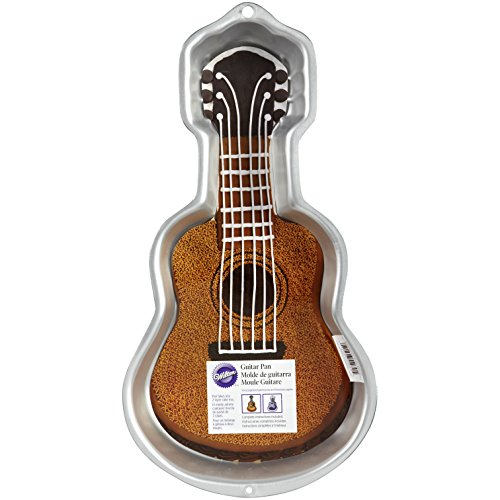 Gitarrenkuchen, 42 x 21,6 x 5 cm ()