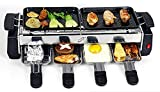 Inditradition Camping Barbecue Grill, Tandoor, Toaster, Roaster / Fully Electric / Compact & Portable, Large Size, Silver