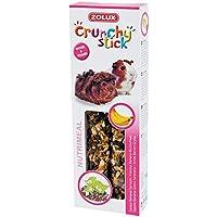 Zolux Crunchy Stick Friandise pour Cochon d'Inde Banane/Sarrasin 115 g