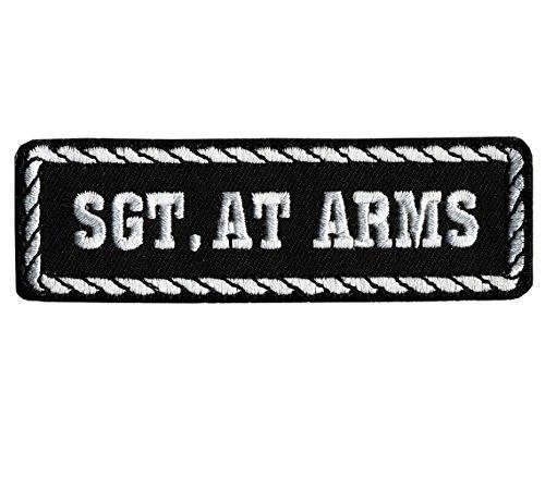 Motorrad-club Patches (Patch Aufnäher Status Sergeant von Waffen (SGT. AT ARMS) - Motorrad Club)