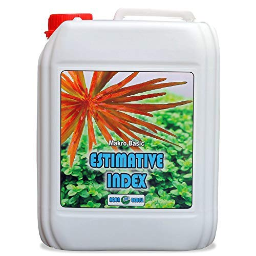 Makro Basic Estimative Index 5L I Wasserpflanzen-Dünger zur optimalen Versorgung von Wasserpflanzen im Aquarium -