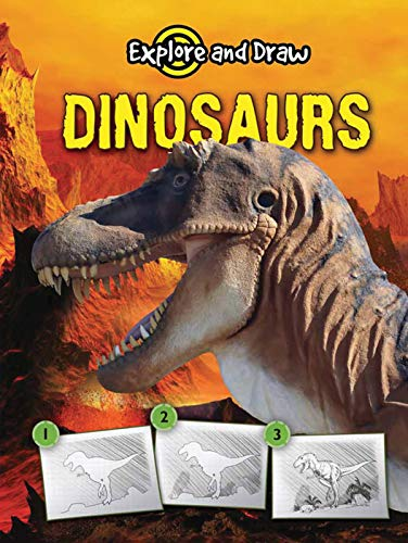 Dinosaurs, Drawing and Reading (Explore & Draw) (English Edition)