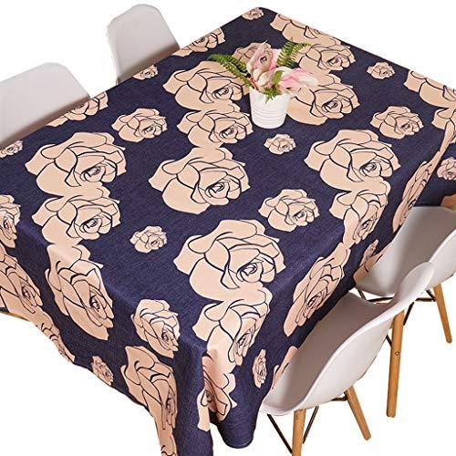 Nappe en coton et lin nappe nappe fashion nappe (taille : 110 * 110cm)