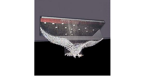 Kronleuchter Mit Adler ~ Kristall kronleuchter adler exterior wohnzimmer deckenleuchte