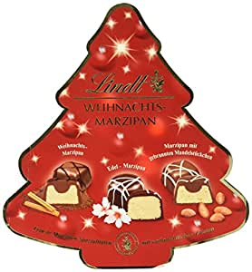 Lindt & Sprüngli Weihnachts Marzipan Selection, 1er Pack (1 x 175 g)