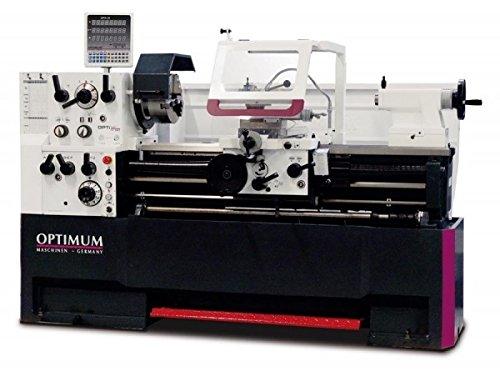OPTIMUM 3462120 Optimum Modelo TH 4615D Tornos de Bancada, 7.5 CV / 5.5 kW / 400 V, 2.765mm x 1.065mm x 1.550mm