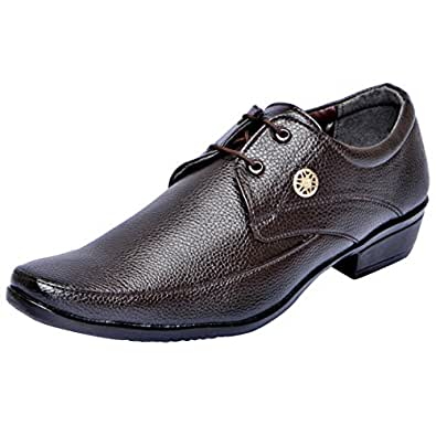 FAUSTO 1605-44 Brown Men's Formal Lace-ups