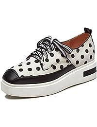 KJJDE Zapatos con Plataforma Mujeres WSXY-A2225 Deportivas Aire Libre y Zapatos Para Running Decoración de Puntos