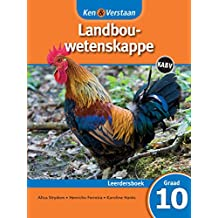 Study and Master Agricultural Sciences Grade 10 CAPS Learner's Book Afrikaans Translation