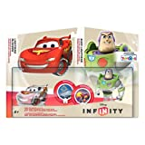 Disney Infinity TRU Exclusive Race to Space Pack with Crystal Lightning McQueen, Buzz Lightyear with C.H.R.O.M.E. Damage Increaser and Zurg's Wrath Power Discs by Disney Interactive Studios