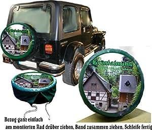 housse de protection avec sa roue de secours. Black Bedroom Furniture Sets. Home Design Ideas