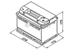 BOSCH batterie de démarrage 0092S40070 s4
