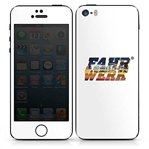 Apple iPhone SE Case Skin Sticker aus Vinyl-Folie Aufkleber Corsa Fahrwerk Fahrzeuge DesignSkins® glänzend