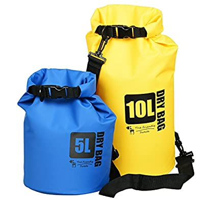 The Friendly Swede Premium PVC Tarp Dry Bags by The Friendly Swede