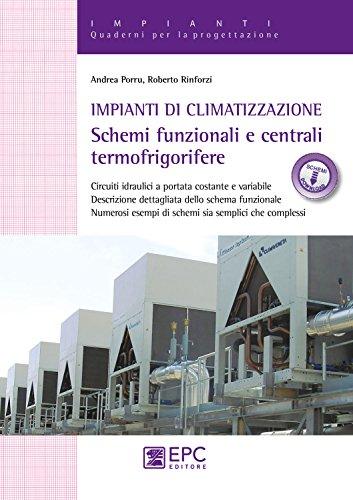 Impianti di climatizzazione. Schemi funzionali e centrali termofrigorifere. Con Contenuto digitale per download e accesso on line