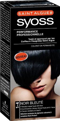 saint algue syoss coloration permanente noir bleut 1 4 - Coloration Permanente Noir