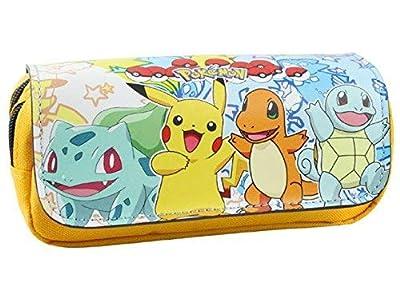 Estuche para lápices de Pokemon con dos compartimentos para niños Craze UK Starter de KTRADING