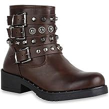 Suchergebnis auf Amazon.de für  Coole Leder-Boots   Stiefeletten mit ... de5f88cd93