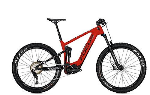 Focus E-Mountainbike 27 Zoll Fully Jam² C Plus (2018) - 11-Gang-Kettenschaltung, Fully-Rahmen - Rot/Schwarz C-rahmen-motor