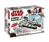 Revell Build & Play - Star Wars Millennium Falcon - 06765, Maßstab 1:164, originalgetreue Nachbildung mit beweglichen Teilen, mit Light&Sound Effekten, robust zum Spielen