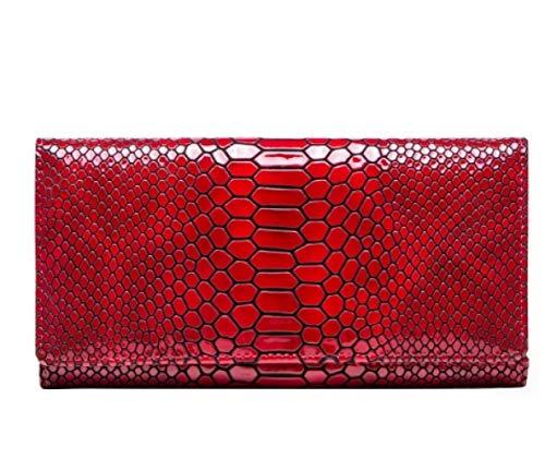 lbinceBrieftasche Frauen Handtasche Brieftasche Kartenhalter Kuh Leder Frau Kupplung Lange Handtasche Designer Lady Brieftasche, EIN (Womens Brieftaschen Und Kupplungen)