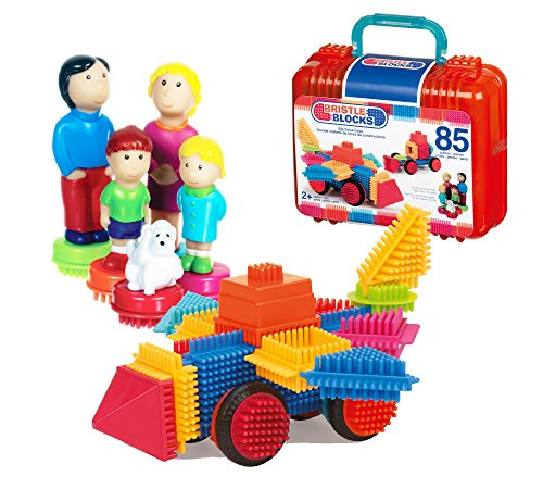 Bristle Blocks 70.3071 Toy, Various, 85-Piece