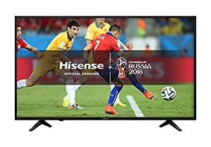 Hisense H55A6200UK 55-Inch 4K Ultra HD Smart TV - Black