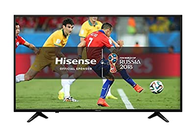 Hisense H43A6200UK 4K Ultra HD Smart TV - Black (2018 Model)
