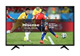 Hisense H43A6200UK 43-Inch 4K Ultra HD Smart TV with Freeview Play - Black (2018 Model)