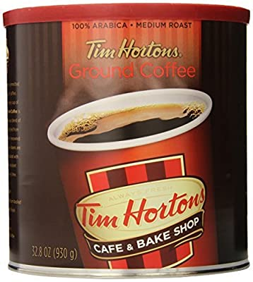 Tim Horton's 100% Arabica Medium Roast Original Blend Ground Coffee, 32.8 oz by Tim Hortons by Tim Hortons