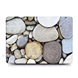 gratuit Keybaord Coque on the Beach Coque rigide pour MacBook Air 11 13 Pro Retina 12 13 15 sacoche d'ordinateur portable Pebble on the Sandy ^ Nm002. pour MacBook Air 11