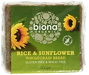 BIONA Organic Rice & Sonnenblumenkernen Brot 500g