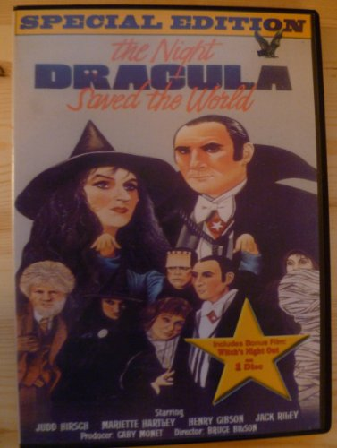The Night Dracula Saved the World DVD (aka The Halloween that Almost Wasn't) Judd Hirsch