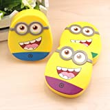 Buckle Up Minion Contact Lens Case (Random Colors Will Be Sent)