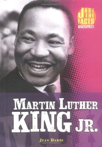 Martin Luther King Jr. (Just the Facts Biographies) by Jean Darby (2005-01-06) par Jean Darby