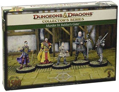 Gale Force Nine GF971021 - Brettspiele, Dungeons und Dragons, Murder at Baldurs Gate, 5 Figuren