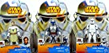 Hasbro Star Wars Attack of The Clones Bundle mit Obi-Wan Kenobi, Jango Fett & Clone Trooper