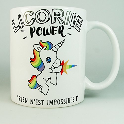 Mug-Licorne-Power-Cadeau-Licorne-Femme-Fille-Tasse-Licorne