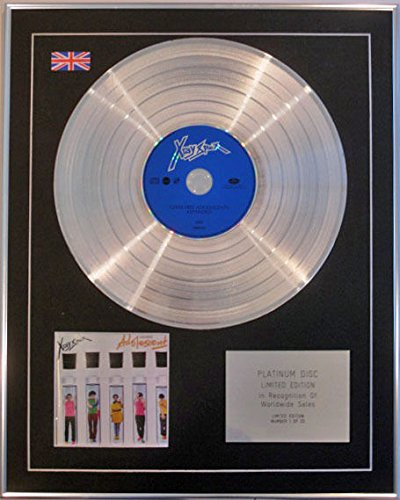 Century Music Awards X-Ray Spex Ltd Edn CD Platinum Disc, inkl. Adolscents