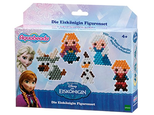Aquabeads 79768 Die Eiskönigin Figurenset Bastelset für Kinder