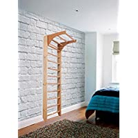 Barras de pared de madera para interiores KM-01-220 Wooden Escalera sueca