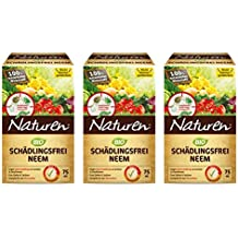 Naturen - Prodotto biologico antiparassitario Neem, 225 ml, efficace contro parassiti che uccidono e aspirano