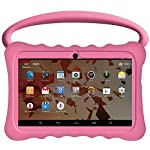 Kids BTC UK 7 Quad Core Tablet PC (1GB RAM, 8GB HDD, Super UHD display, Google Android 5.1, WIFI, USB, Bluetooth) - Pink