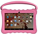 Kids BTC UK 7' Quad Core Tablet PC (1GB RAM, 8GB HDD, IPS display, Google Android 4.4, WIFI, USB, Bluetooth) - Pink