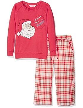 Cyberjammies Mädchen Zweiteiliger Schlafanzug Santa Claus Is Coming To Town