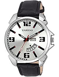 Tarido New Style White Dial Day & Date Watch For Men