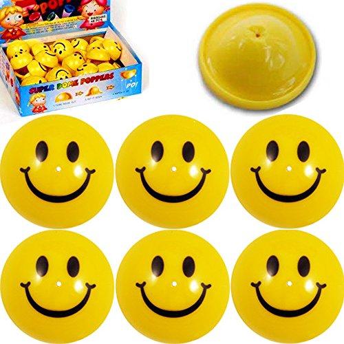 � - 12 x PoP - UP - Smiley Hüpfer =┃ Männchen ┃ Kinder lieben Diese Smileys! ()