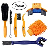 Holike 7pcs Bicycle Cleaning Tools Set Bicycle Clean Brush Kit Suitable Mountain Road City Hybrid BMX Folding Bike
